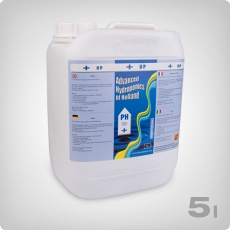 Advanced Hydroponics pH Up, 5 Liter