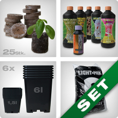 Grow-Starter Kit, Erde, mineralisch