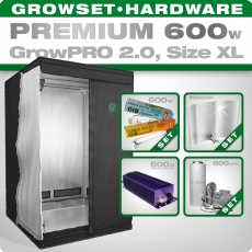 Growbox GrowPRO XL, Grow Set 600W Premium