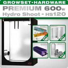 Hydro Shoot HS120 Grow Set 600W Premium