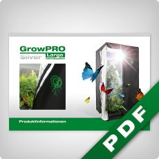 GrowPRO Growbox, Produktinformationen
