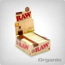 RAW Organic Connoisseur Kingsize Slim + Tips, 24er Box