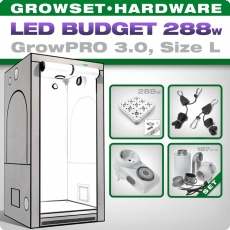 Low Budget Grow Set LED GrowPRO L, 288W
