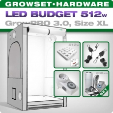 Low Budget Grow Set LED GrowPRO XL, 512W
