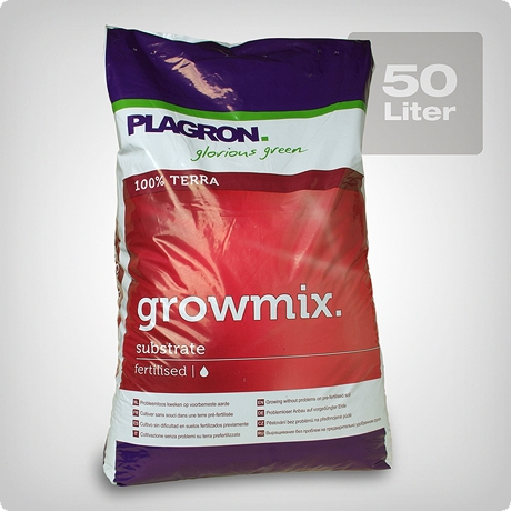 plagron grow mix mit perlite 50 liter. Black Bedroom Furniture Sets. Home Design Ideas