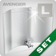 Adjust-A-Wings Avenger Set mit Spreader, Large