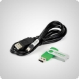 Apogee AC-100-Kabel + AMS-Software (USB)