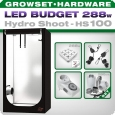 Growbox LED Set Greenception Hydro Shoot 100, 288W