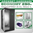 Growbox GrowPRO L, Grow Set 250W Economy
