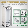 LED Grow Set Homebox Ambient Q60 + 1x Q3W, 120W