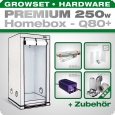 HOMEbox Q80 Profi Silent Growbox Set, 250W, 80x80x180cm