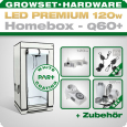 LED Grow Set Homebox Ambient Q60 + 1x Q3WL, 120W