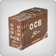 OCB Unbleached King Size Slim + Tips (32er Box)