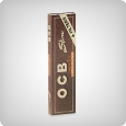 OCB Unbleached King Size Slim + Tips (einzeln)
