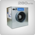 CarbonActive EC Silent Box, 280m³/h, ø 125mm