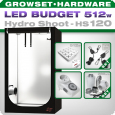 Growbox LED Set Greenception Hydro Shoot 120, 512W