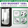 Growbox LED Set Greenception Hydro Shoot 80, 128W