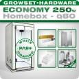Homebox Ambient Q80+ Grow Set 250W Economy