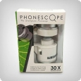 Phonescope LED Smartphone Mikroskop 30x